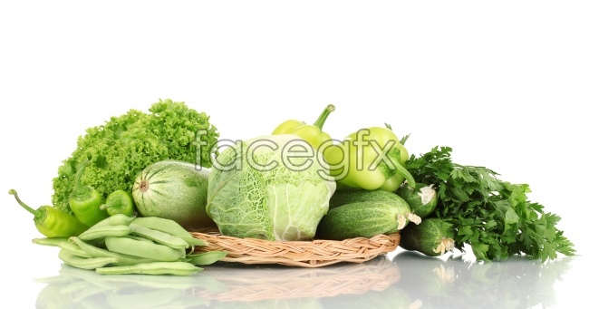 Green vegetables high definition pictures