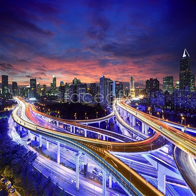 Urban landscape bridge HD pictures