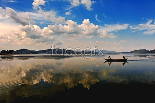 Beautiful lake view high definition pictures