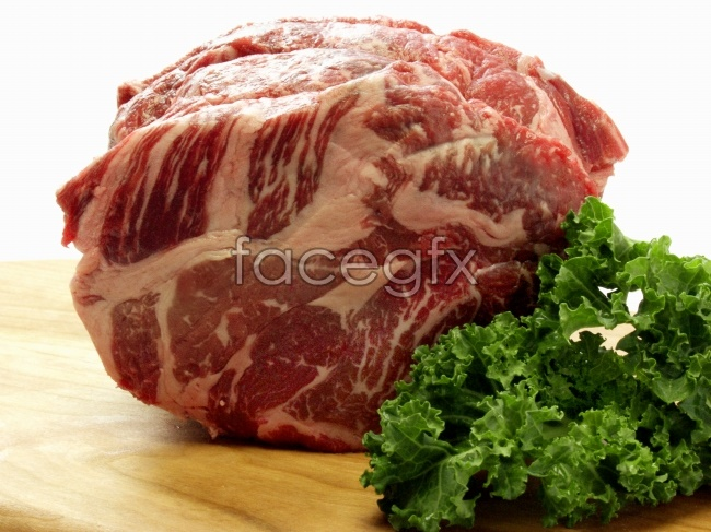 Fresh bovine meat products pictures