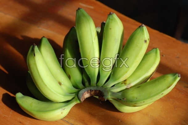 Banana material picture in HD
