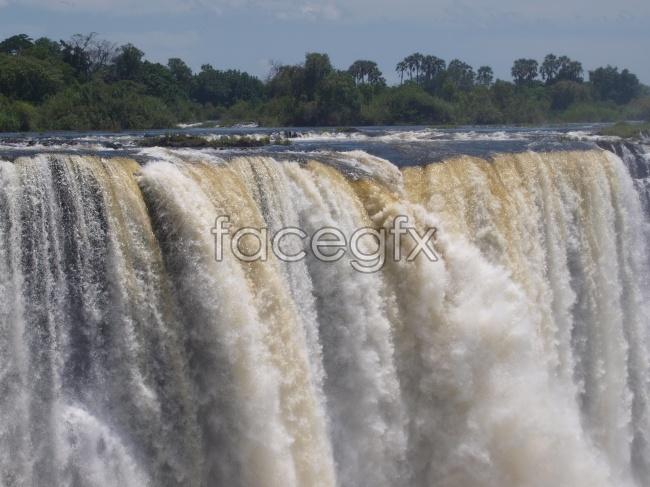 Drop of Victoria Falls pictures
