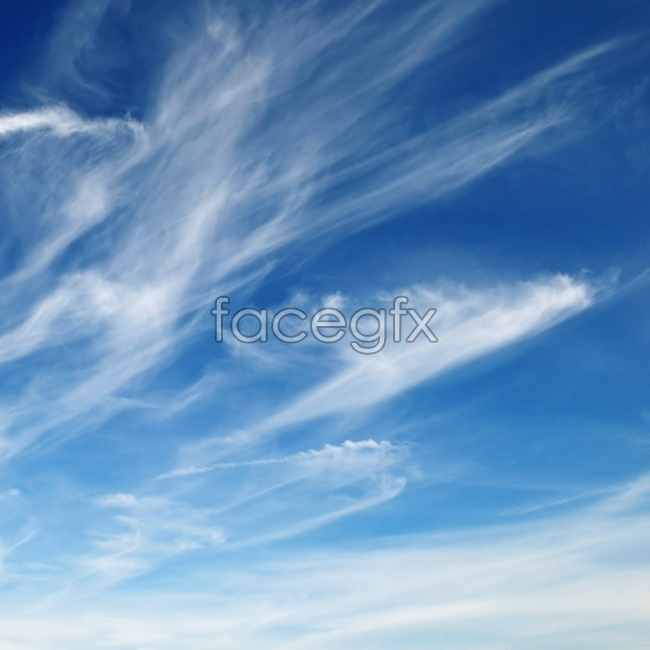 Fluttering clouds picture