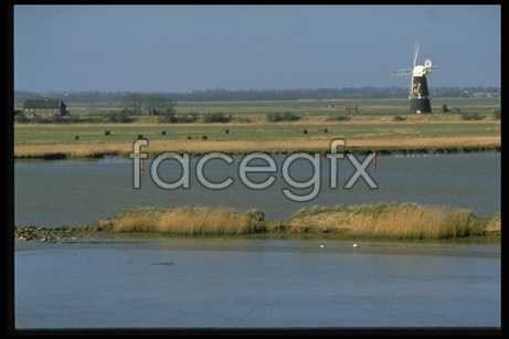 Windmill River picture