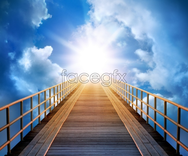 Bridge to the Sun, high resolution images