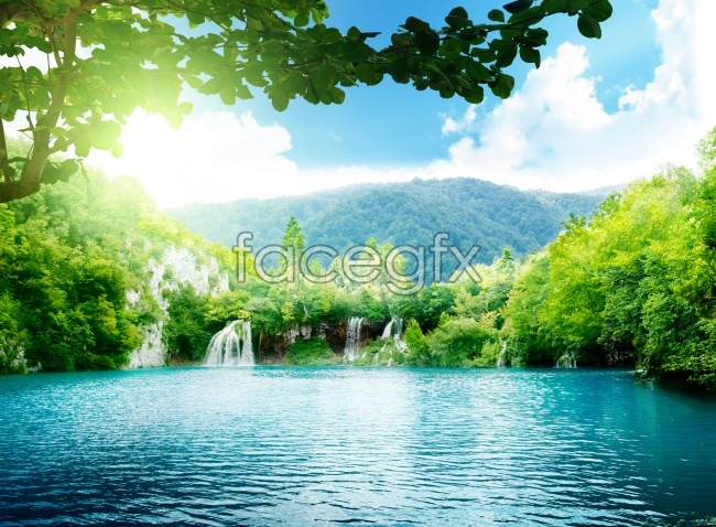Fantasy landscapes HD picture
