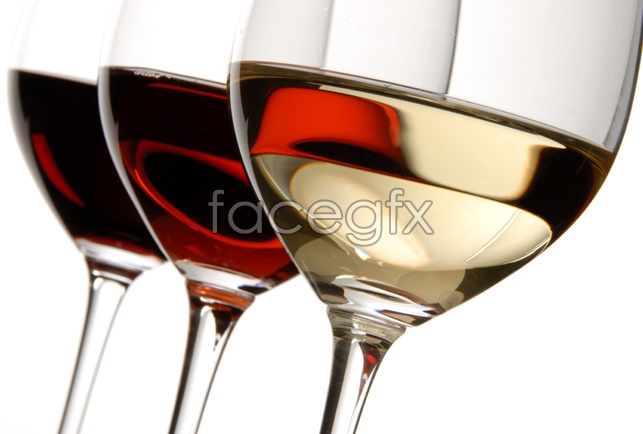 Beautiful red wine picture
