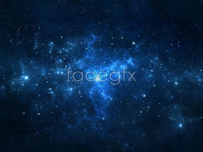 Beautiful stars of the Galaxy Nebula Pictures
