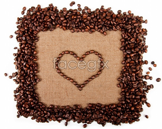 Coffee beans picture