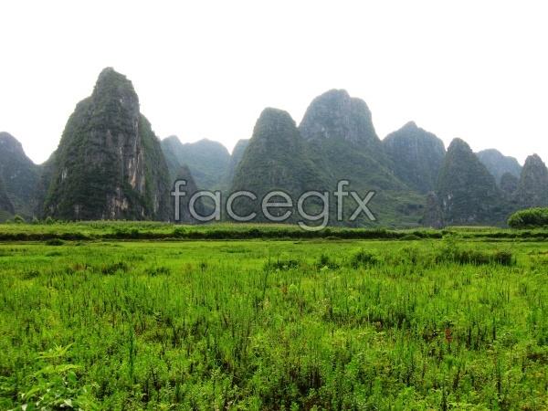 HD Castle Peak landscape picture