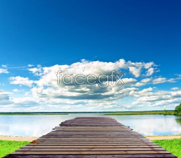 HD river landscape picture