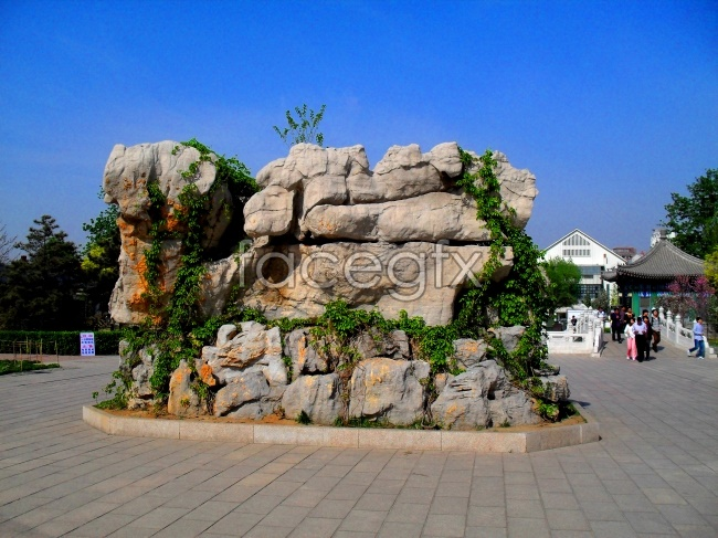 HD Park rockery pictures