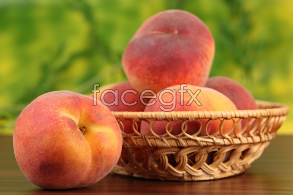 HD peach fruit pictures