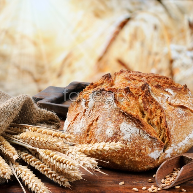 HD wheat French bread pictures