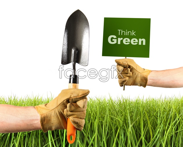 HD shovel the grass picture