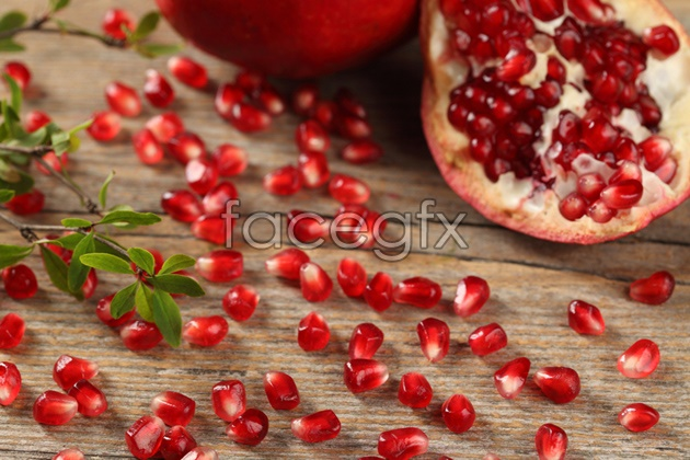 Fresh pomegranate pictures HD