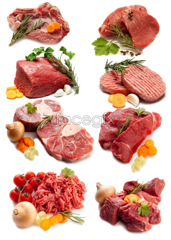 Beef ingredients picture