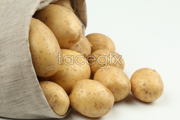 HD potato picture