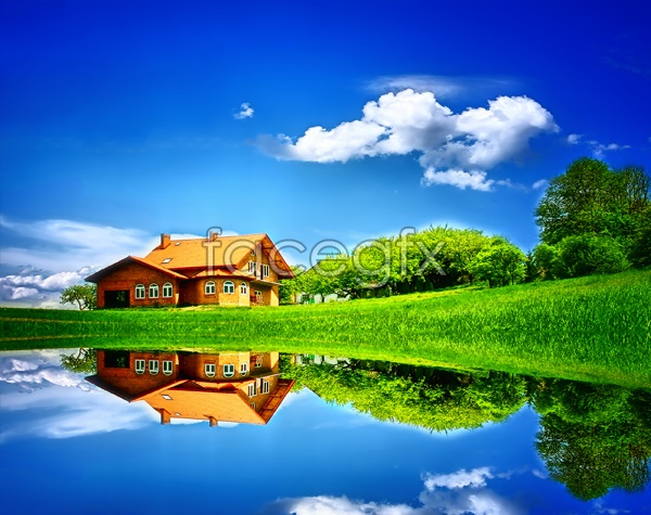Lake Villa HD picture