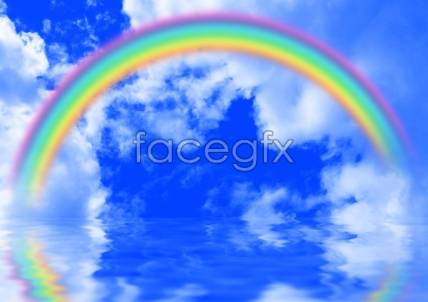 Rainbow Sky HD picture