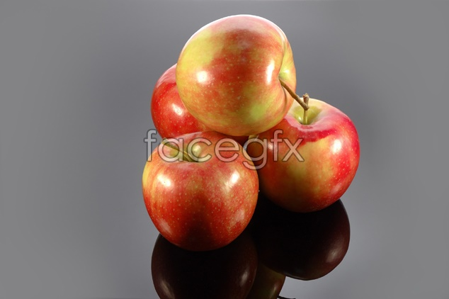 Apple fruit material picture