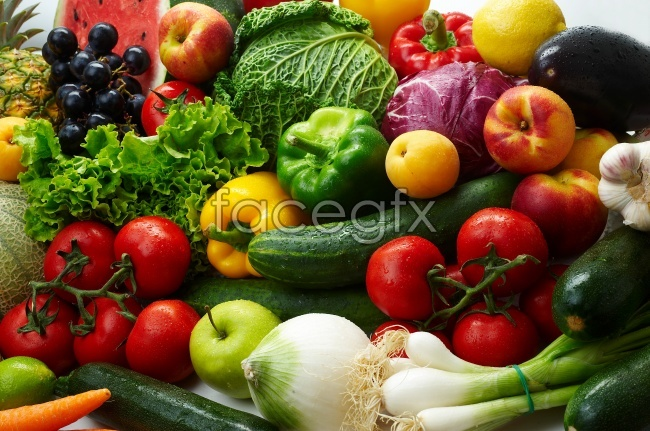 Fruits and vegetables high definition pictures