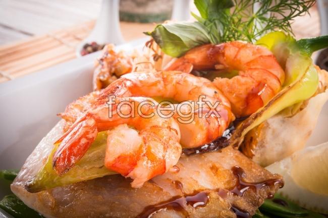 Shrimp gourmet HD pictures