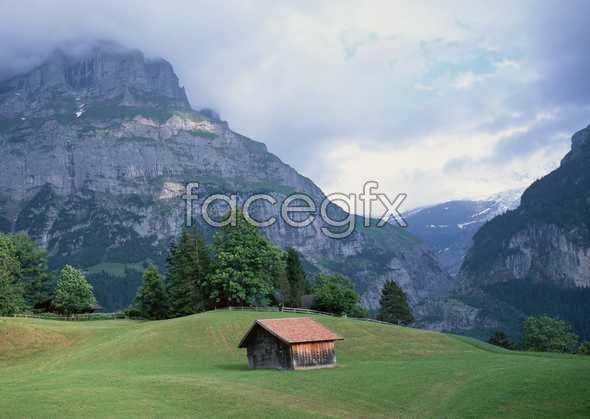 Idyllic village of 121