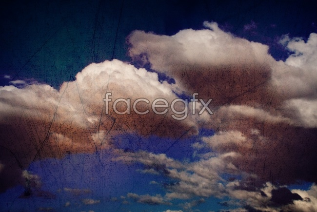 Sky white clouds high definition pictures