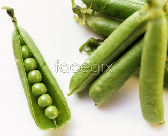 Fresh green beans picture
