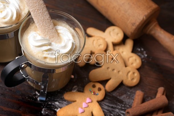 HD delicious cookies, picture