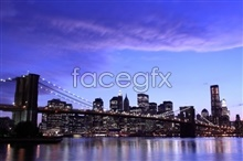 Cities evening color HD pictures