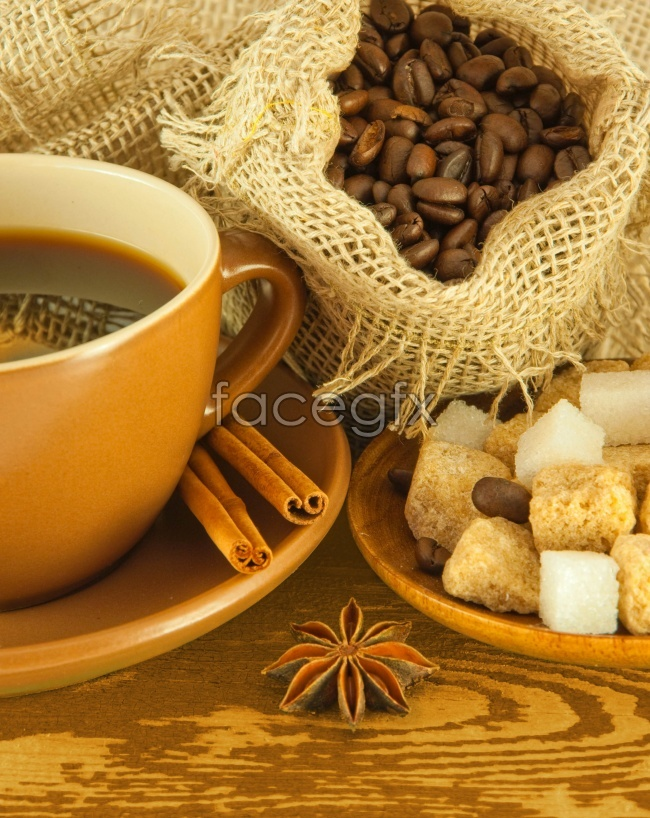 European-style coffee beans picture