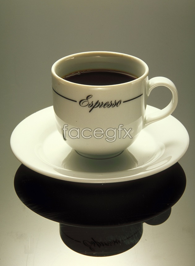 High light and fragrant coffee picture