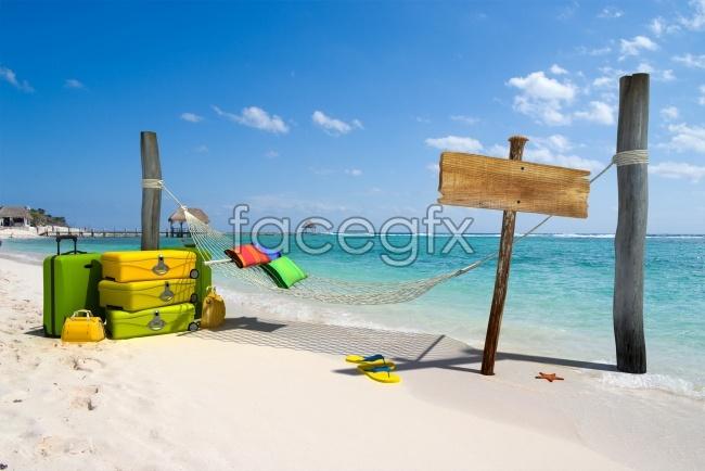Poster Beach landscape pictures