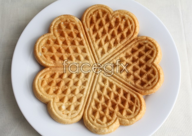 Waffles, picture