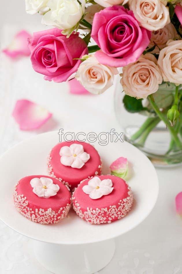Delicious pastries HD picture