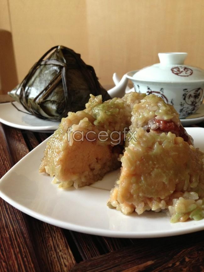 Dragon Boat Festival rice dumpling picture