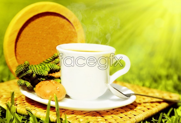 HD clean coffee morning picture
