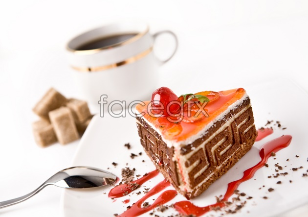 HD coffee cake pictures