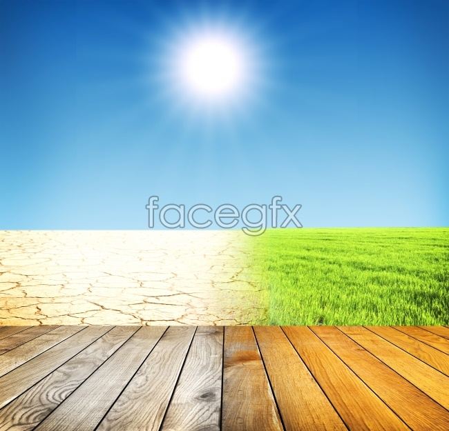 Blue Sky sunshine Board HD pictures