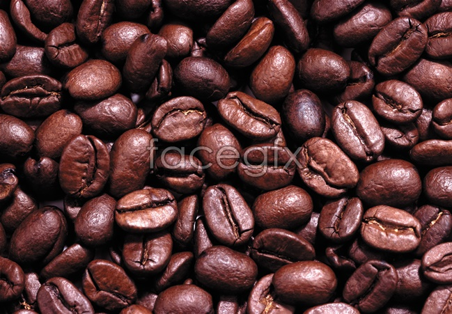 Coffee beans in high definition pictures