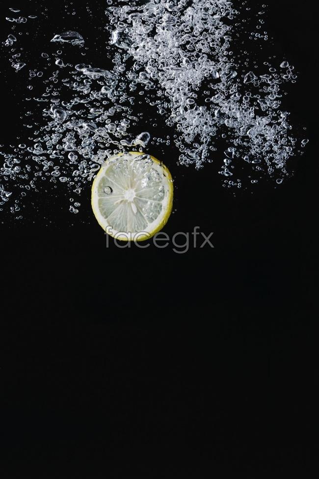 Lemon sparkling HD pictures