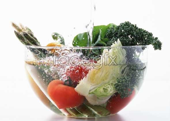 Fresh fruits and vegetables, 437
