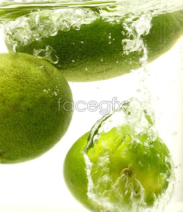 Lime in the water picture