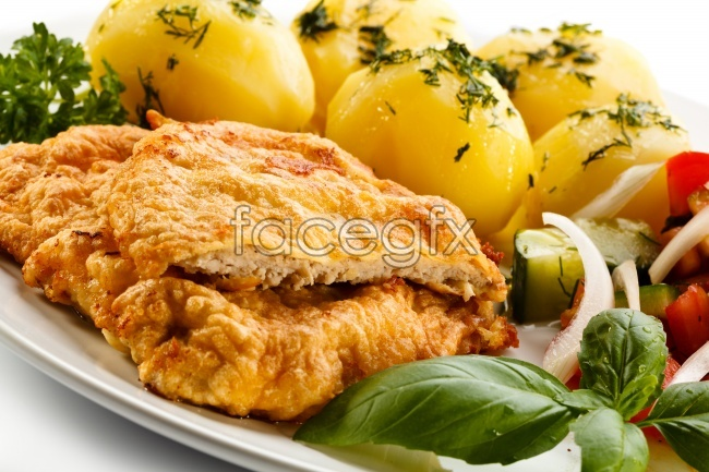 Assorted fresh chicken breast pictures