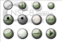 Buttons Apple icon