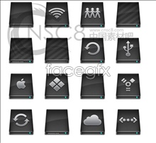 Apple hard drive desktop icon