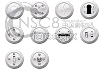 Apple theme button