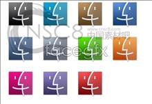 Apple computer Finder icon